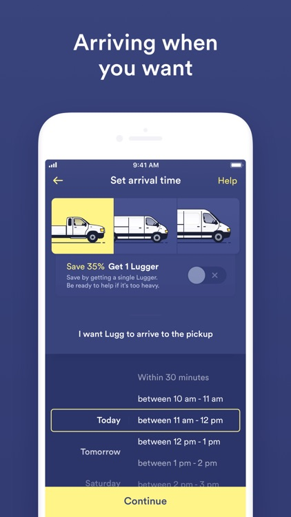 Lugg - Moving & Delivery screenshot-3