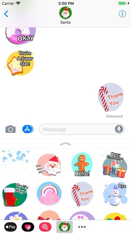 Christmas! Animated Stickers screenshot-4