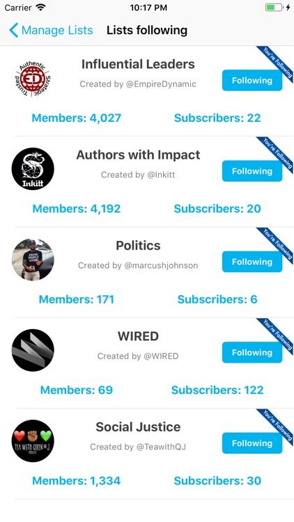 Find Unfollowers For Twitter screenshot-5