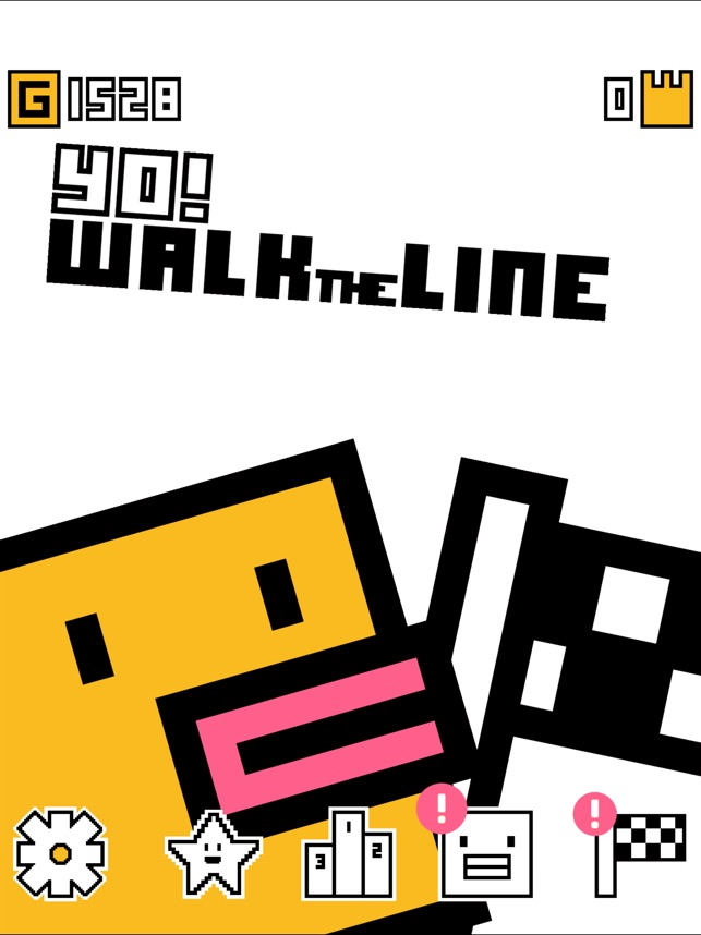 Yo! Walk the Line Screenshot