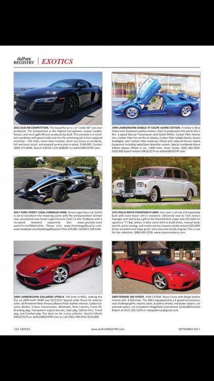 duPont REGISTRY Fine Automobiles screenshot-3
