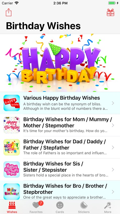 Birthday App! screenshot-0