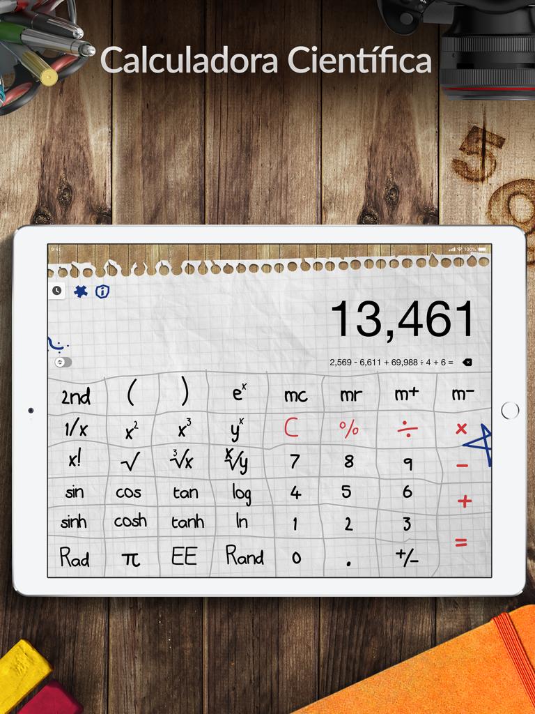 Calculadora Pro+ para iPad Screenshot