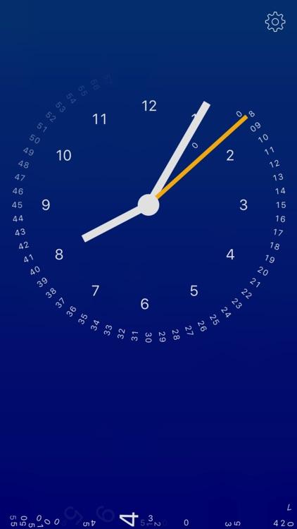 gravity clock screenshot-0