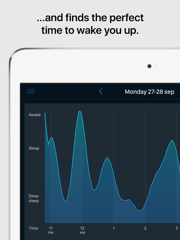 Sleep Cycle alarm clock iPad