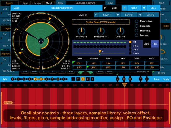 Screenshot #2 for SynthScaper