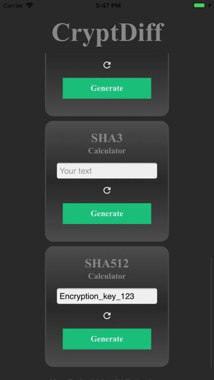 CryptDiff - Encrypt & Decrypt screenshot-4