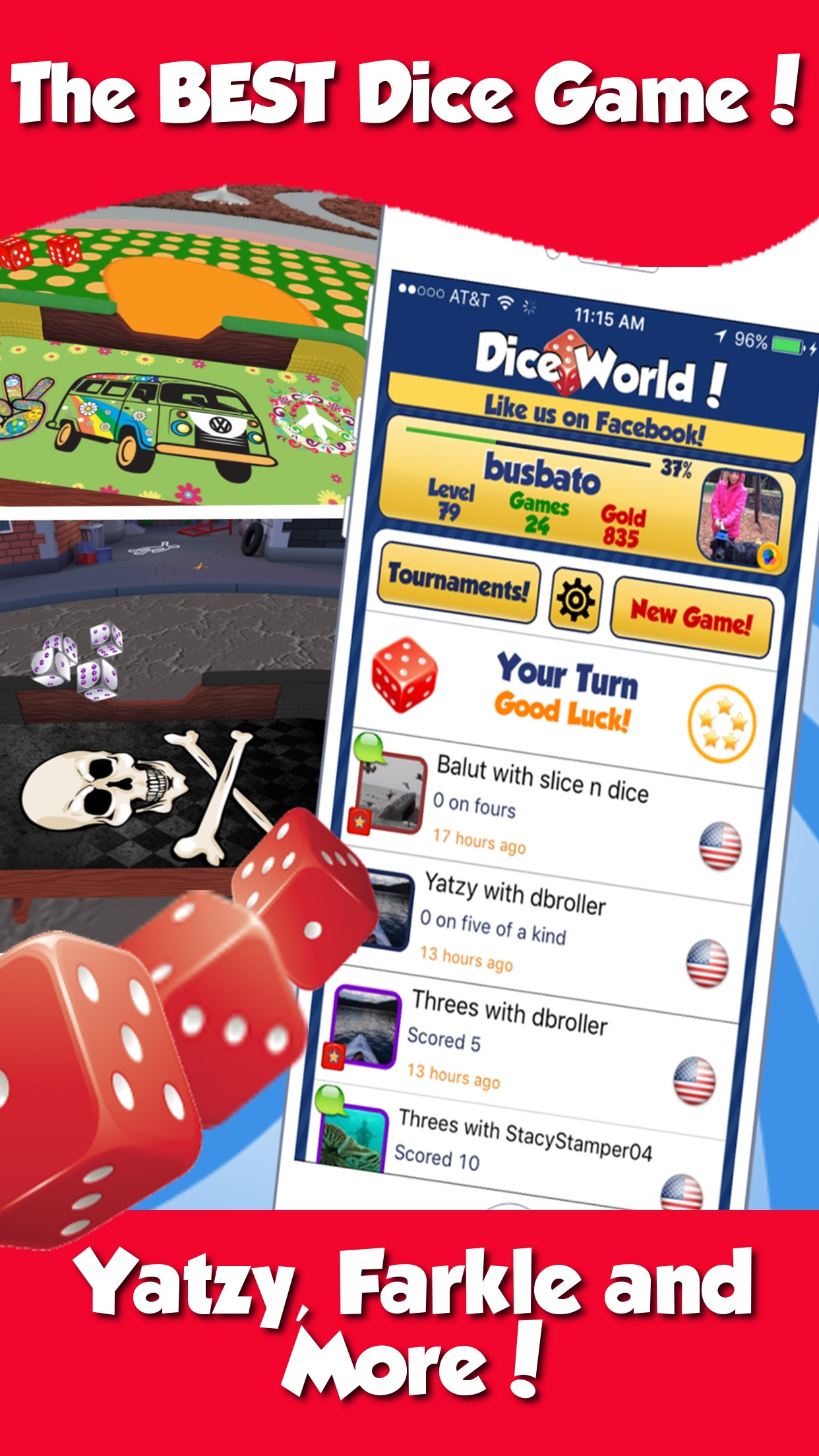 Dice World Dice Game Screenshot
