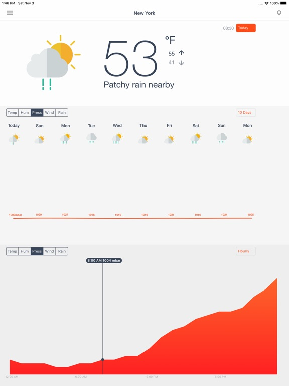 Weather Force Screenshots