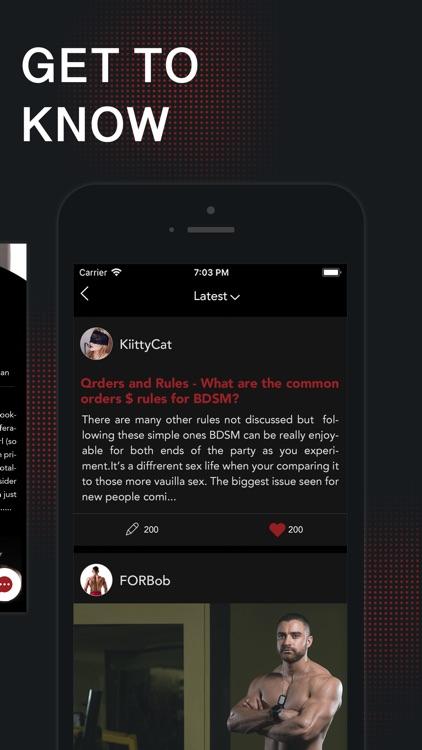 FET Life Style BDSM Community screenshot-3