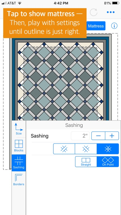 QuiltSize screenshot-2