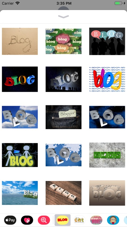 Blog Stickers