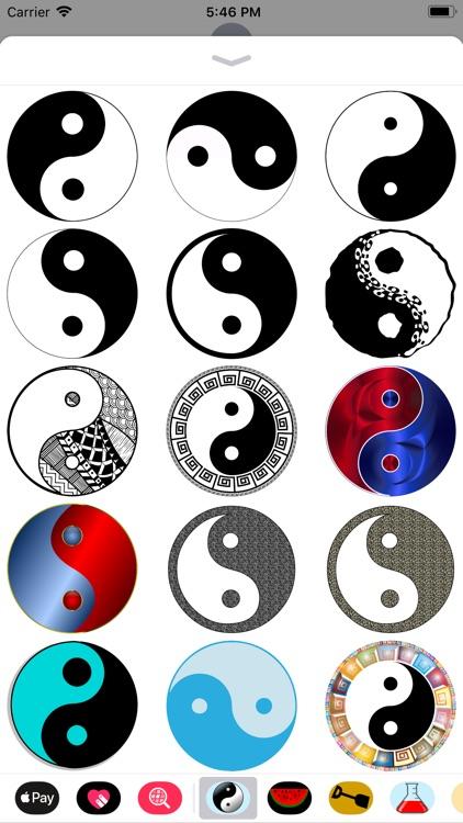 Yinyang Stickers