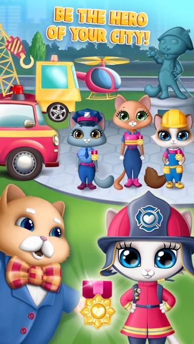 Kitty Meow Meow City Heroes screenshot 8