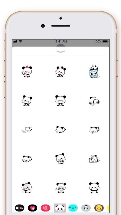 Cute Panda Kawaii Stickers screenshot-3