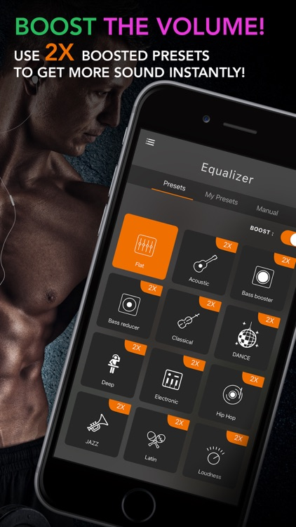 Equalizer+ Pro Music Player