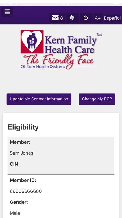 Kern Family Health Care LINK screenshot-3