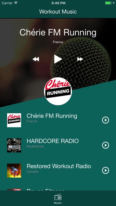Workout-Music screenshot one