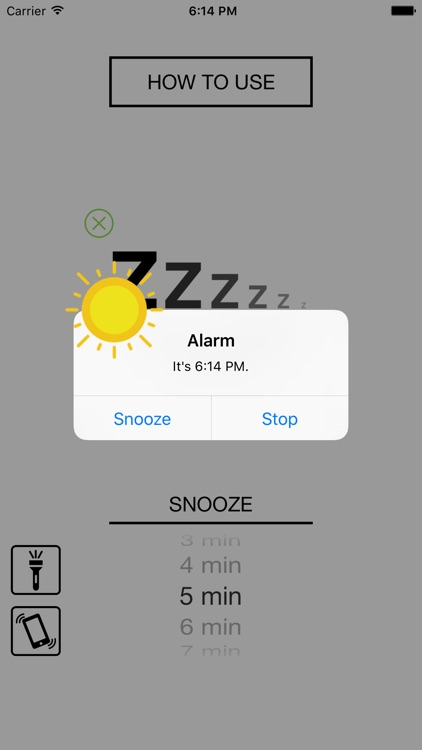 Widget Alarm Clock