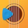 吉他和弦 - 6 弦吉他并带有指板和和弦学习工具