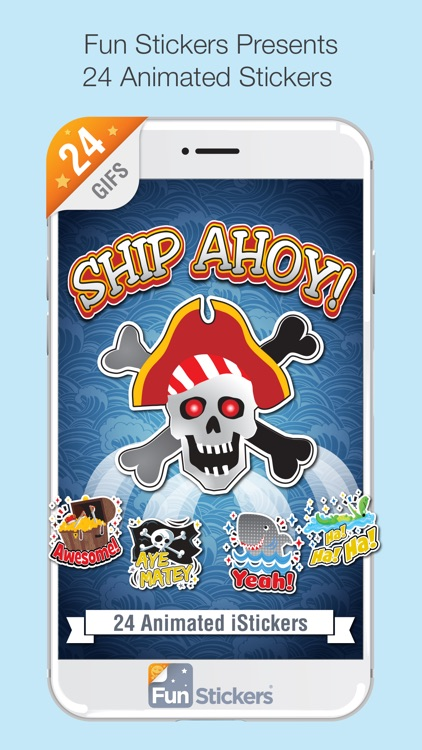 Ship Ahoy iSticker