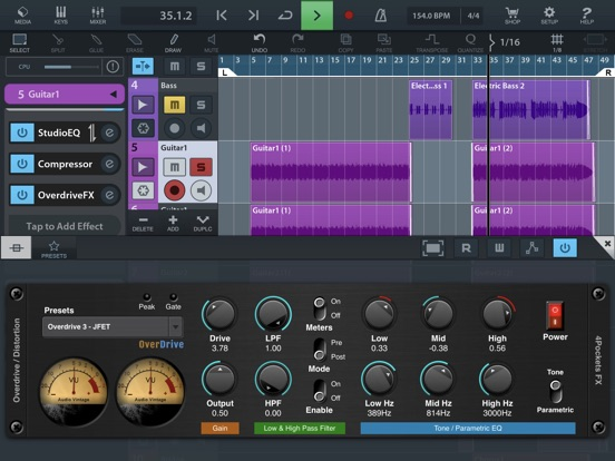 Overdrive AUv3 Plugin screenshot 9