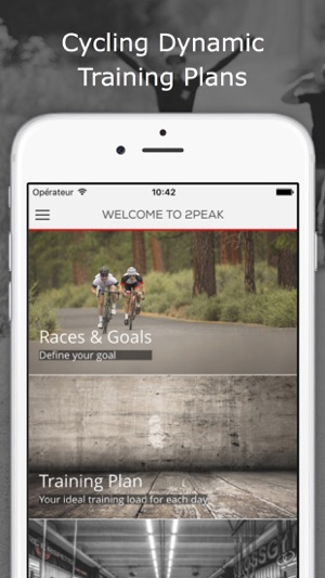 Bike2PEAK Cycling TrainingPlan on the App Store