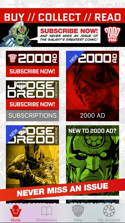 2000 AD Featuring Judge Dredd screenshot-3