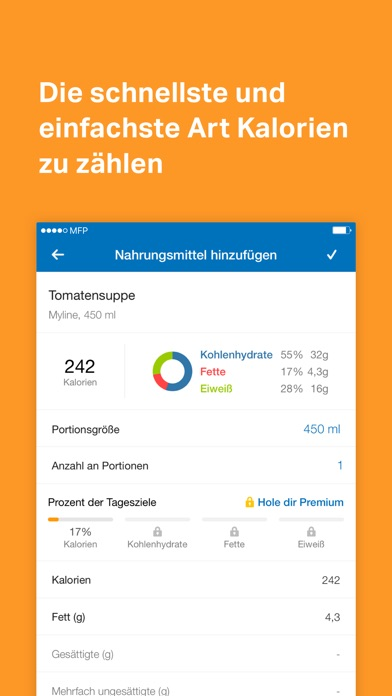 Screenshot for MyFitnessPal in Switzerland App Store