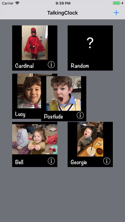 Family Talking Clock screenshot-3