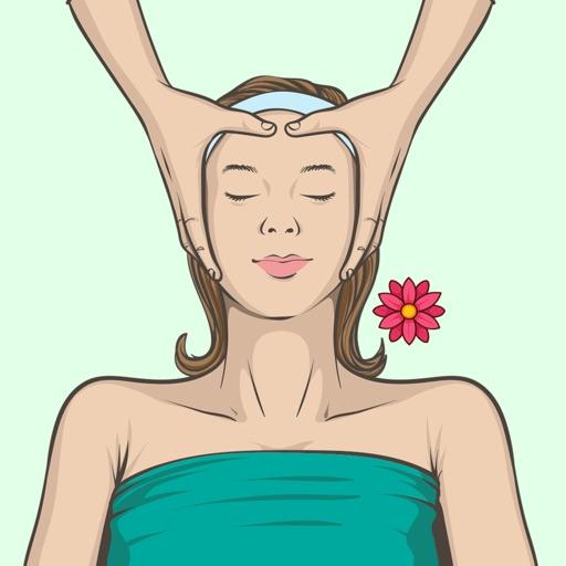 Wellness Spa Massage Stickers
