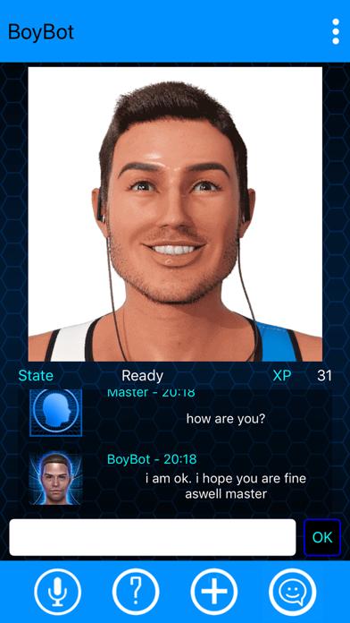 BoyBot My Virtual Boyfriend screenshot 2