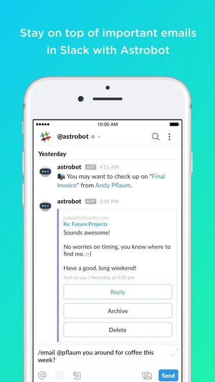 Astro: AI meets Email screenshot-4