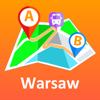Warsaw offline map & transport