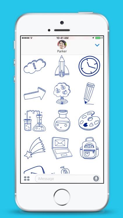 School Stickers - iMessage screenshot-4