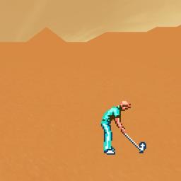 Ícone do app Desert Golfing