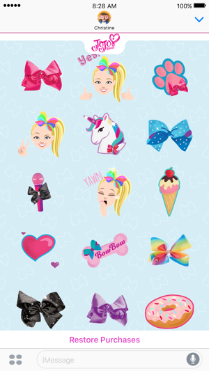 JoJo Siwa Stickers on the App Store