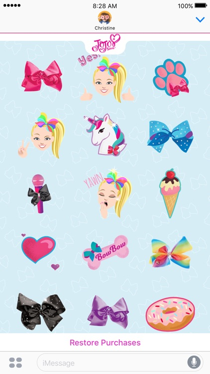 JoJo Siwa Stickers