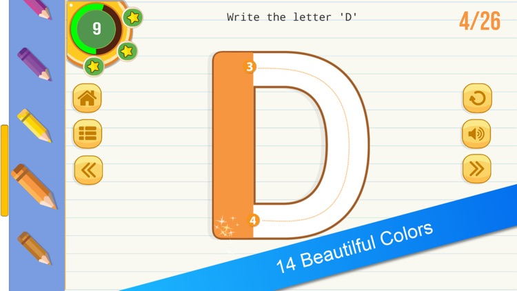 English Tracing Book : Letters screenshot-3