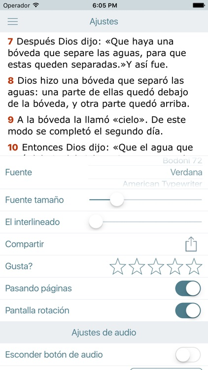 Biblia Dios Habla Hoy en Audio screenshot-4