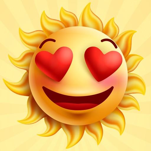 Sun Face : Animated Stickers