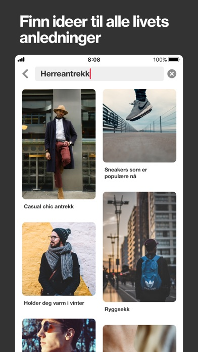 Screenshot for Pinterest in Norway App Store