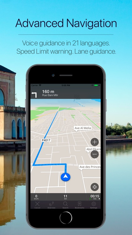 Morocco Offline Navigation screenshot-3
