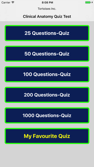 Clinical Anatomy Quiz Test Pro On The App Store