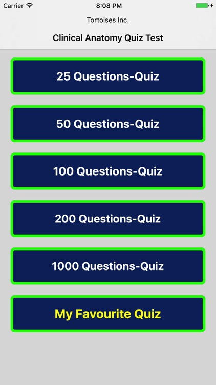 Clinical Anatomy Quiz Test Pro by Tortoises Inc