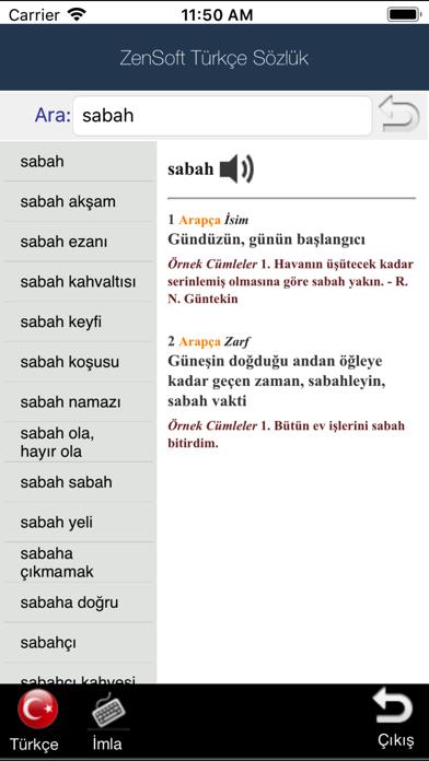 Türkçe Sözlük (ZenSoft)