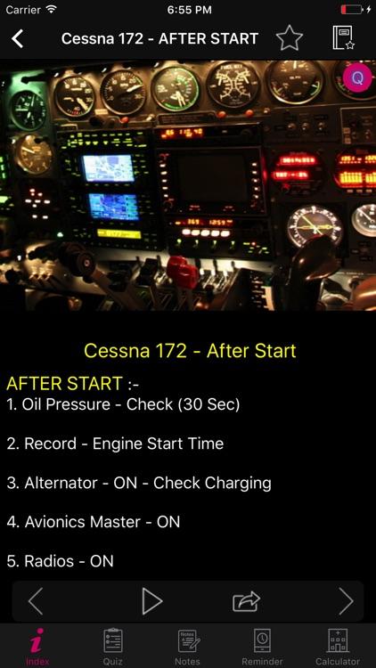 Cessna 172 Checklist Preflight screenshot-3