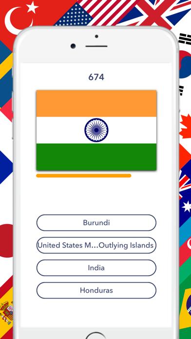 Flag Quiz - Nationalのおすすめ画像3