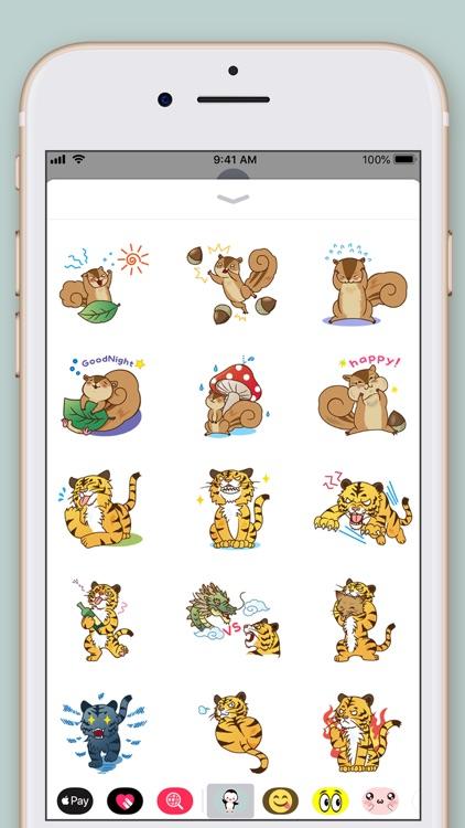 Amazing Animals Stickers screenshot-5