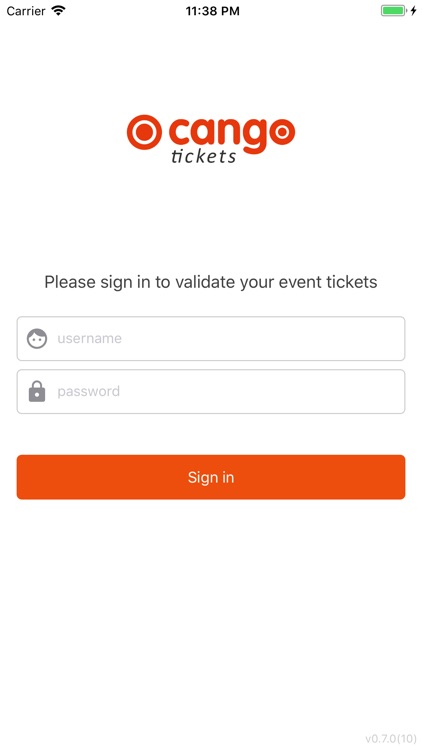 Cango Tickets Scanner